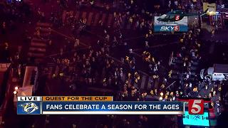 Fans Celebrate A Season For The Ages - Video