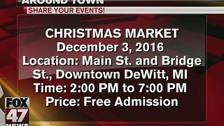 Around Town: 12/2/16/ Christmas Market, Holiday Parade and more