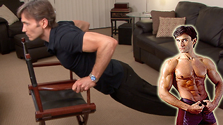 Get fit where you sit with these helpful chair exercises