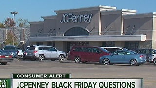 JC Penney Black Friday deals - Video