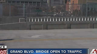 Grand Boulevard Bridge reopens today - Video