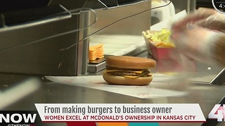 Women McDonald's owners add $130M to KC economy - Video
