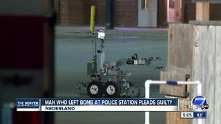 Nederland police station bomb suspect pleads guilty