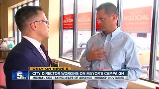 City director working on mayor's campaign
