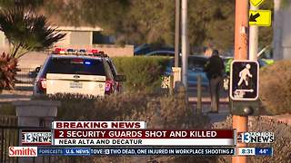 2 security guards shot at Arizona Charlie's - Video
