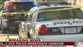 Police investigate suspicious death in KCK - Video