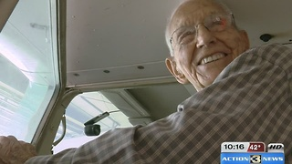 World's Oldest Pilot turns 99-years-old next month - Video