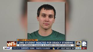 Man indicted on murder charge in Maryland college stabbing - Video