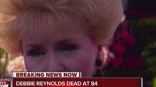 Debbie Reynolds, Carrie Fisher's mother, has died, reports say - Video