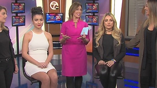 NAIAS Charity Preview Hair & Makeup ideas from Mandy Rose Hair and Makeup Studio - Video