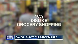 Say so long to traditional grocery carts - Video