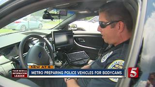 Metro Police Preparing All Vehicles For Body Camera Compatibility - Video