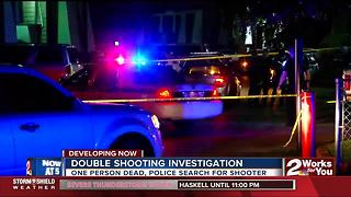 One dead as police search for shooter - Video