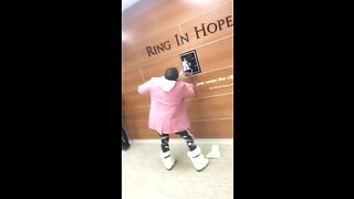 This Mom Is Cancer Free - Now See How She Rings The Bell! - Video