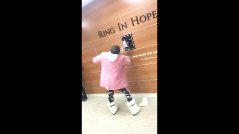 This Mom Is Cancer Free - Now See How She Rings The Bell!