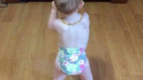 This Baby Can Dance!