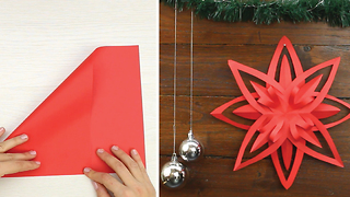 Origami paper star - Video