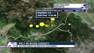 Earthquakes rattle Western Montana - Video