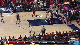 No. 17 Arizona defeats Utah 66-56 - Video