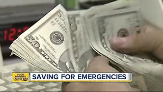Study: 1 in 4 Americans aren't saving for emergencies - Video