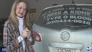 Suamico woman in need of new kidney finds message going viral - Video
