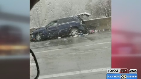 3 legs lost in Omaha weather related wreck
