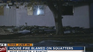 Vacant house fire causes $20,000 in damage - Video