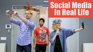 Social Media IRL: If Instagram and Snapchat Came to Life  - Video