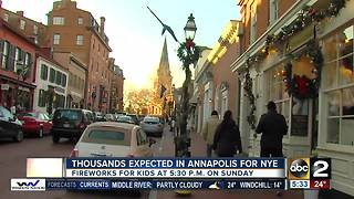 Annapolis gets ready for New Year's Eve celebration - Video