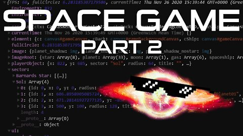 Space Game - Part 2 - Object & Array Sorting