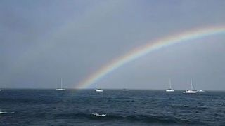 Rainbow Spotted in Maui Shortly Before Tropical Storm Olivia Batters Hawaii