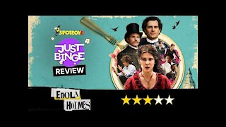 Enola Holmes Review   Millie Bobby Brown   Just Binge Review   SpotboyE