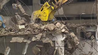 Akron begins demolition of Rubber Bowl - Video