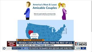 Nevada couples fight more than the National Average - Video