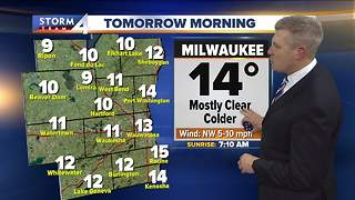 Sunny and warmer Tuesday - Video