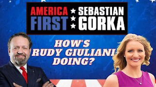 How's Rudy Giuliani doing? Jenna Ellis with Sebastian Gorka on AMERICA First