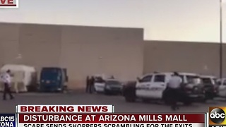 Scare or hoax? AZ Mills Mall on lockdown after shooting - Video