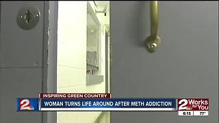 Woman turns life around after meth addiction - Video