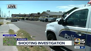 Police investigating shooting in south Phoenix