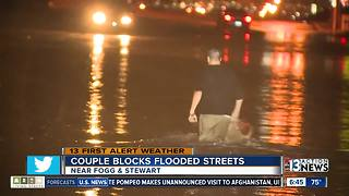 Thunderstorms cause flooding, outages, damage across Las Vegas valley