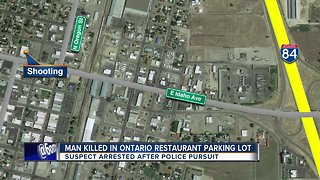 Suspect in custody following Ontario homicide