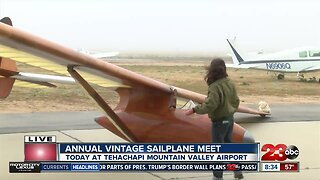 Annual Vintage Sailplane Regatta takes off in Tehachapi