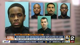 Murdered BPD Detective Suiter implicated in Gun Trace Task Force Case - Video