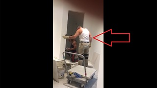 We Can't Get Enough Of This Tile-Setter Dancing To Ariana Grande  - Video