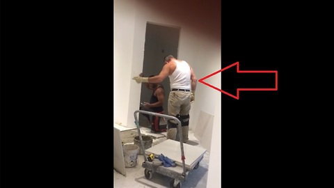 Camera Catches Hilarious Construction Worker Dancing Like No One's Watching