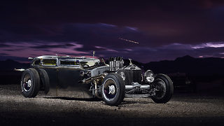 Rolls Royce Gets Incredible Rat Rod Makeover: RIDICULOUS RIDES - Video