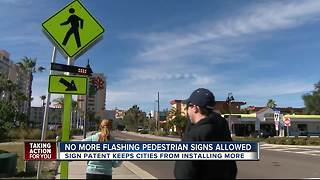 Federal government: No more flashing pedestrian crossings
