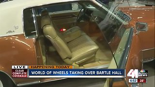NASCAR legend headlines car show at Bartle Hall this weekend