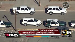 Two students dead in New Mexico school shooting
