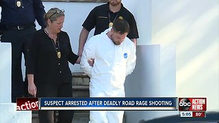 Suspect arrested after St. Pete road rage shooting